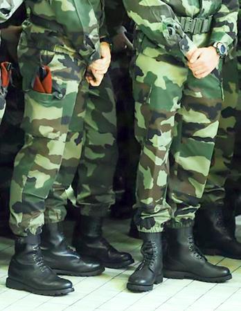 Zapatos Y Botas Militares