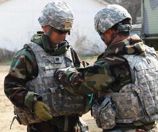Uniforme Militar De Camuflaje